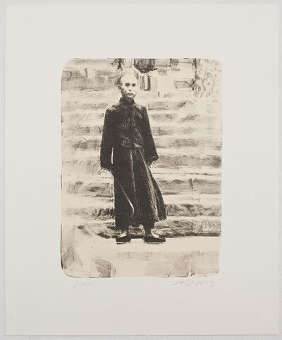 Hung Liu 刘虹, 'Grandfather's Mountain: The Steps', 2013