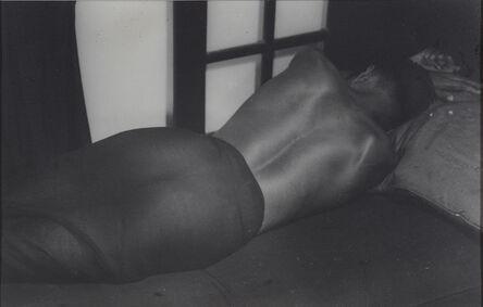 Lionel Wendt, 'Untitled (Sleeping Male in Black Vetti)', 1934-1938