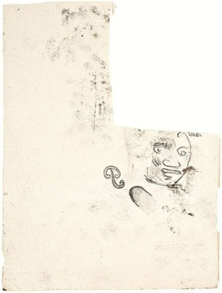 Paul Gauguin, 'Tête de Femme'