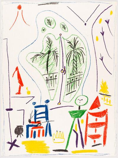 Pablo Picasso, 'DANS L'ATELIER DE PICASSO', 1956