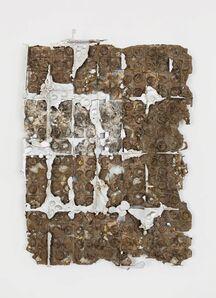 Nicolas Lobo, 'Bio-foam Aluminum Pour (Energy Drink Can Mouth Grid version)', 2016