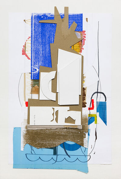 Dil Hildebrand, 'untitled collage 01', 2017