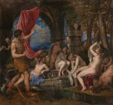 Titian, 'Diana and Actaeon', 1556-1559