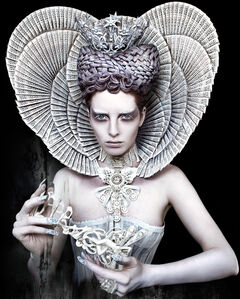 Kirsty Mitchell, 'The White Queen', 2011