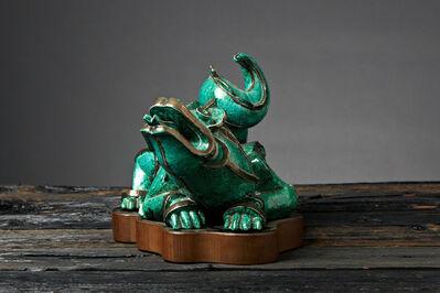 Wilhelm Kåge, 'Jade Dragon', ca. 1930