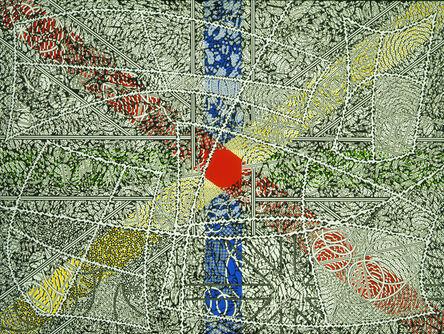 Bernard Cohen, 'Red Centre', 1999