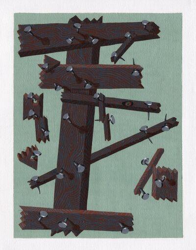 Matthew Couper, '00 Rings, (Number 50)', 2015