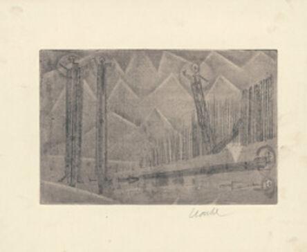Geoffrey Clarke, 'Men in the Mountains ', 1950
