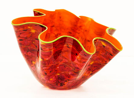 Dale Chihuly, 'Dale Chihuly Fiesta Macchia Sold Out Portland Press Studio Edition glass art', 2011