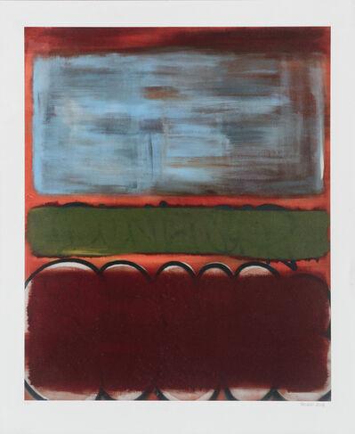 John Tsombikos aka BORF, 'Rothko's Modern Life (Seven)', 2013