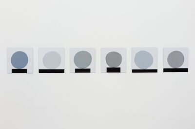 David Batchelor, 'Six Grey Blobs', 2012