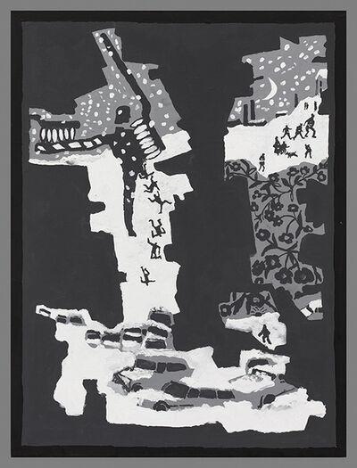 Derek Boshier, 'Snow (Return of the Stranger)', 2018