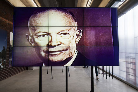 """'Installation view of """"Face-to-Face: The American National Exhibition in Moscow, 1959/2015""""', 2015"""