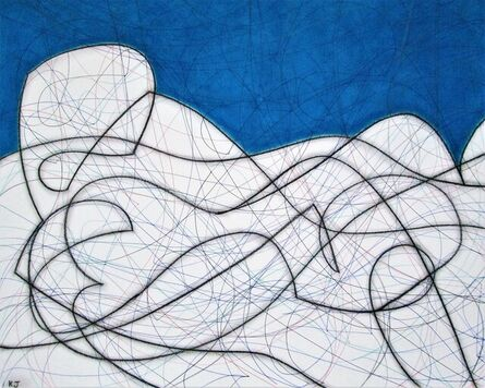 Kevin Jones, 'Composition with Blue ', 2014