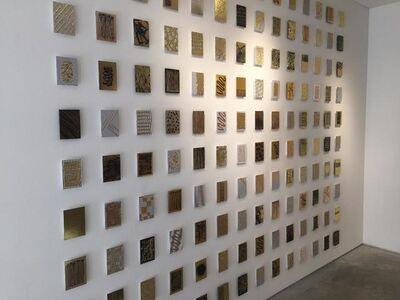 Monet Clark, '140 Gold Mine tiles', 2017