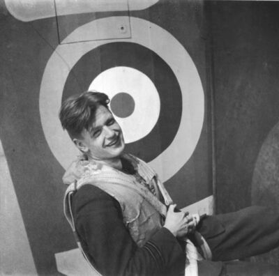Cecil Beaton, 'ACTING FLIGHT LIEUTENANT THOMAS 'GINGER' NEIL, NO 249 SQUADRON, RAF NORTH WEALD', 1940