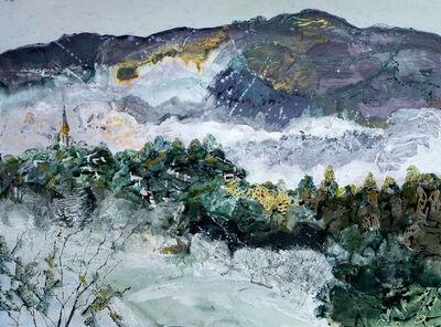 Jenny Grevatte, 'Early Morning Mist Over Crickhowell', 2019