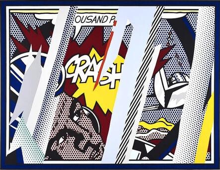 Roy Lichtenstein, 'Reflection on Crash', 1990