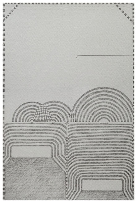 Christopher Squier, 'Strange and unadorned: wave interference study no. 16', 2020