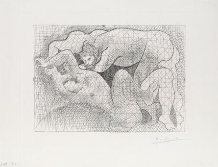 Pablo Picasso, 'Le Viol from Suite Vollard', 1931