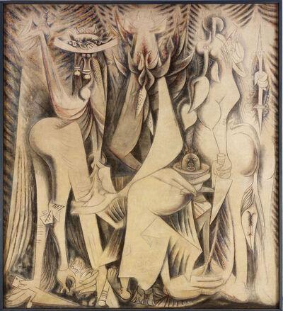 Wifredo Lam, 'Le Présent éternel', 1944