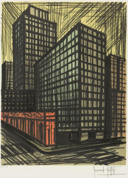 Bernard Buffet, 'New York: Coca Cola Building', 1986