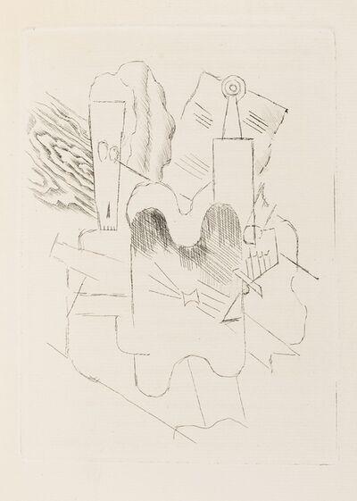 Pablo Picasso, 'Le Siège de Jérusalem (Cramer 3)', 1914