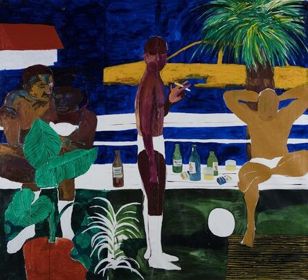Gideon Appah, 'Lovers Park 1', 2020