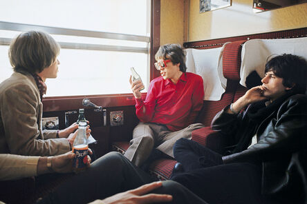 Jean-Marie Périer, 'The Rolling Stones on the Train from Marseilles, 1966', 1966
