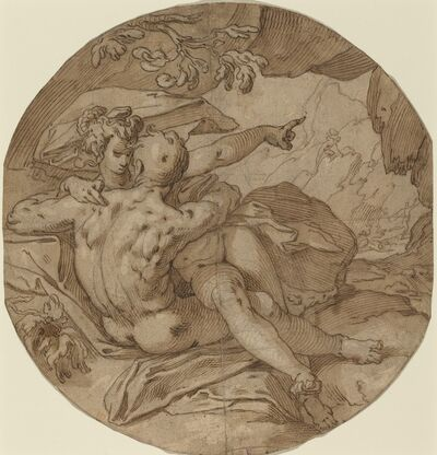 Abraham Bloemaert, 'Acis and Galatea', ca. 1590