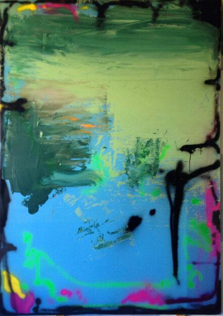 Alvaro Seixas, 'Untitled-Paintbrush Landscape', 2015