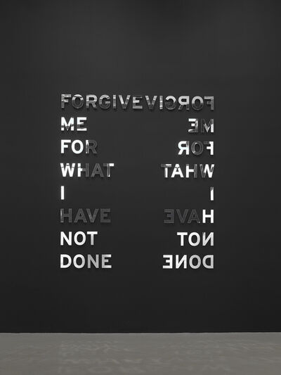 Otto Berchem, 'Forgive me for what I have not done ', 2011 -2019