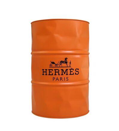 Jaler Fine Art, 'HERMES Barrel Orange', 2021