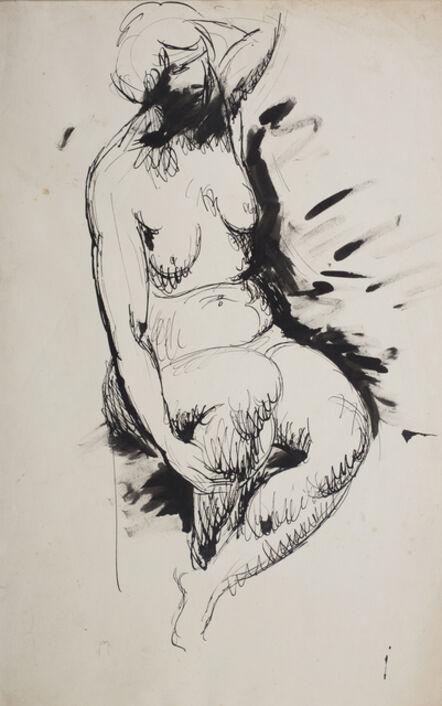 """Antonio Berni, 'Sin Título. De la serie """"Desnudos en París""""', ca. 1927-1928"""