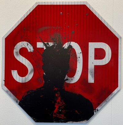 Richard Hambleton, 'Stop Sign Print', 2019