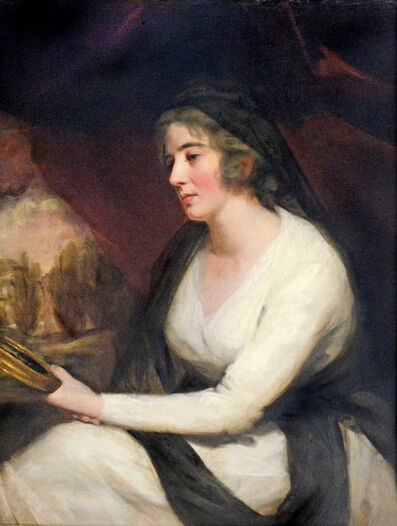 Sir Henry Raeburn, 'Portrait of Mrs. Johnstone', 1790-1810