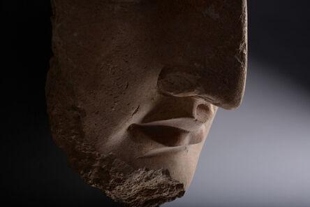 Gandharan, 'Exceptional Stucco Head of Buddha', ca. 350