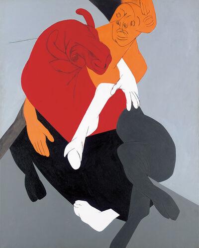 Tyeb Mehta, 'Mahisasura', 1997