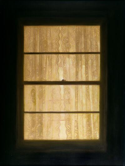 Dan Witz, 'Lace Curtain Window', 2005