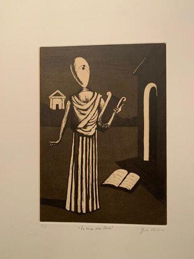 Giorgio de Chirico, ' La Musa della Storia', 1970