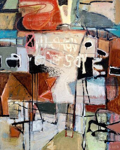 Leslie Allen, 'Canyon (Slot)', 2018