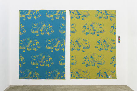 John M. Armleder, 'GOLD FISH', 2016