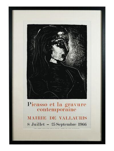 Pablo Picasso, 'gravure contemporaine 1966', 1966