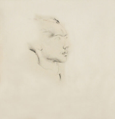 Hedda Sterne, 'Portrait of Sandu Tudor', ca. 1938