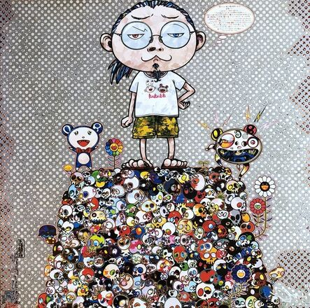 Takashi Murakami, 'With the notion of death, the flowers look beautiful', 2013