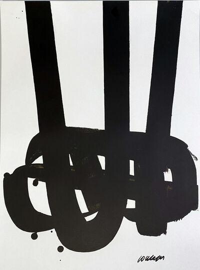 Pierre Soulages, 'Olympische Spiele München', 1972