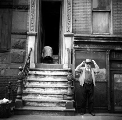 Erich Hartmann, 'Lower East Side, New York City, USA.', 1948