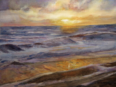 Jann Pollard, 'Florida Coast Sunrise', 2018