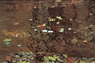Ralph Wickiser, 'Into the Eddy', 1980