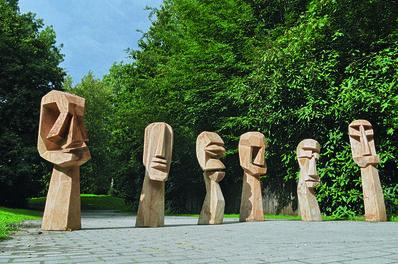Jems Robert Koko Bi, 'Ancêtres (Ancestors)', 2011